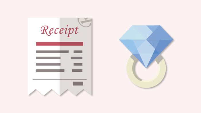 配偶者ビザ申請の関係性証明_婚約指輪