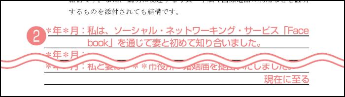 配偶者ビザ申請の質問書_2枚目の2