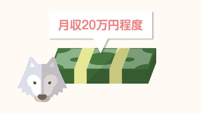 配偶者ビザ申請の収入の目安は月収20万円