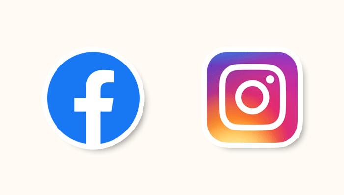 FacebookとInstagram
